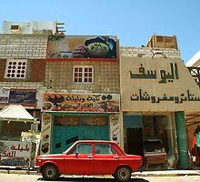 Street Egypt by Cammi