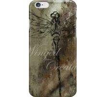 Winged Creature iPhone Case/Skin