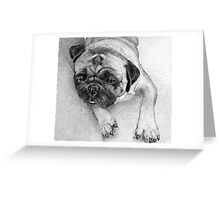 tired and worn out...  Greeting Card