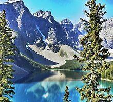 Lake Moraine, Banff by joshhoffman