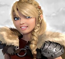 Astrid How to Train Your Dragon by MartaDeWinter