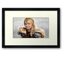 Astrid How to Train Your Dragon Framed Print