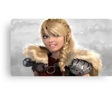 Astrid How to Train Your Dragon Canvas Print