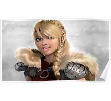 Astrid How to Train Your Dragon Poster