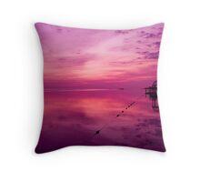 Jamaican Sunrise Throw Pillow