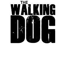 The Walking Dog Parody T Shirt Photographic Print