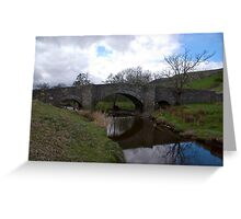 Bridge at Semerwater - Yorks Dales. Greeting Card