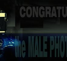feature challenge banner -  the Male Photographer by dennis william gaylor