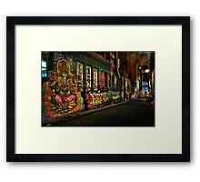 Hosier Lane Melbourne Framed Print