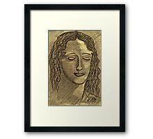 LEONARDO DAVINCI'S WOMEN Framed Print