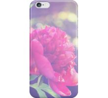 Afternoon Peony iPhone Case/Skin