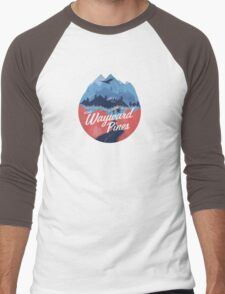 Visit Wayward Pines Men's Baseball ¾ T-Shirt