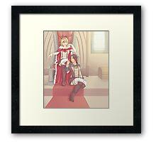 Yumikuri Framed Print