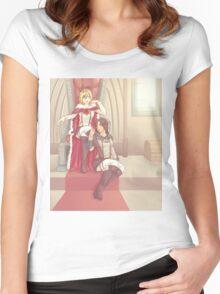 Yumikuri Women's Fitted Scoop T-Shirt