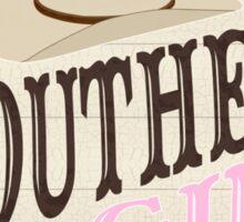 Southern Girl Sticker