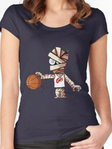 Lebron Mummy Women's Fitted Scoop T-Shirt