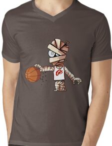 Lebron Mummy Mens V-Neck T-Shirt