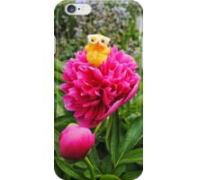 Chick on Bloom iPhone Case/Skin