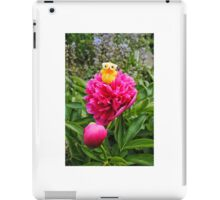 Chick on Bloom iPad Case/Skin
