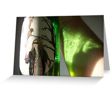 Bottle Reflection Greeting Card