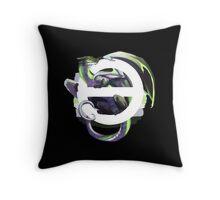 Agender Pride Dragon Throw Pillow