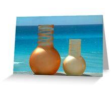 Cuban Vases Greeting Card