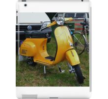 Vespa at the Padstow Show iPad Case/Skin