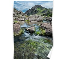 Tryfan Mountain Stream  Poster