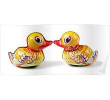 Duck Love Poster