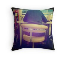 Yellow Chair Throw Pillow