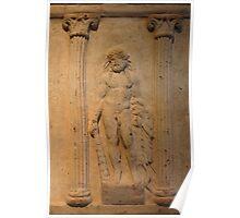 Ancient Male Torso Poster