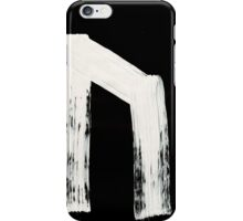Runes - Elder Futhark - 0002 - Uruz - Inverted iPhone Case/Skin