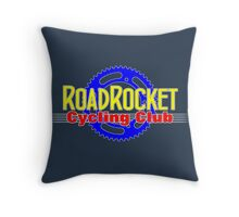 RoadRocket C.C. Dark Throw Pillow