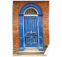 Big Blue Door Poster
