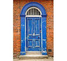 Big Blue Door Photographic Print