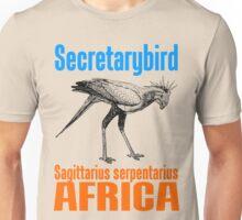 Secretarybird Unisex T-Shirt