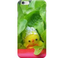 Chick with Herbs iPhone Case/Skin