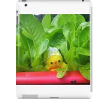 Chick with Herbs iPad Case/Skin