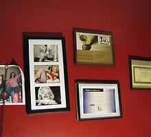 My Grandaughters Wall by Linda Miller Gesualdo