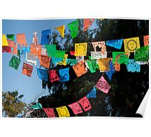 Festival Flags Poster