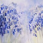 Dusky Bluebells by artbyrachel