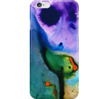 Paradise Found - Colorful Abstract Painting iPhone Case/Skin