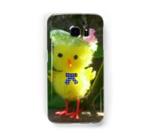 Chick with Bonnet Samsung Galaxy Case/Skin