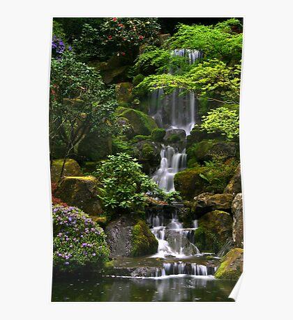 Waterfall Wonder Poster