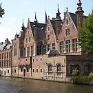 Brugges, lovely view from the canal by BronReid