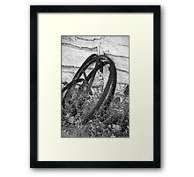 Wheels of Time Framed Print
