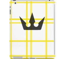 Kingdom Hearts Crown iPad Case/Skin