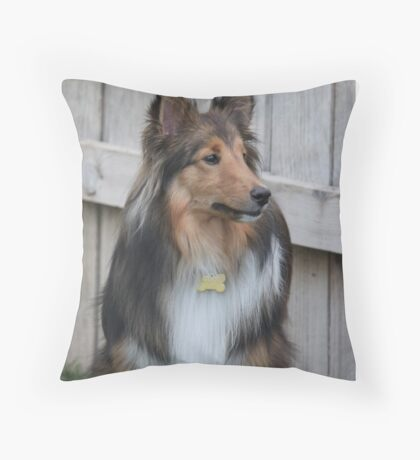 My sweet Maggie May...... Throw Pillow