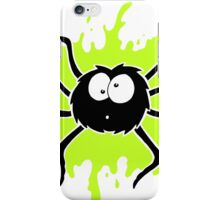 Spider Splat - Green iPhone Case/Skin