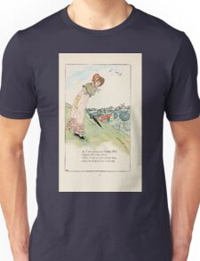 Mother Goose or the Old Nursery Rhymes by Kate Greenaway 1881 0048 As I Was Going Up Pippin Hill Unisex T-Shirt